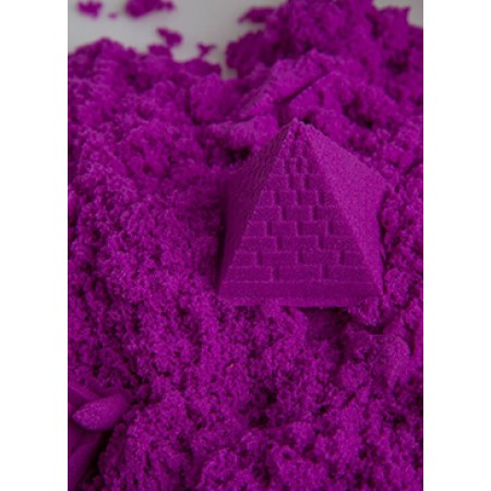 Purple Play Sand Kinetic Sensory Activity